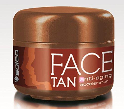 Soleo Face Tan anti-aging accele...