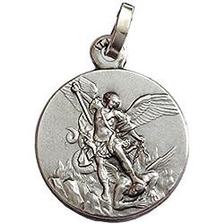 Médaille de Saint Michel Archange en Argent Massif 925