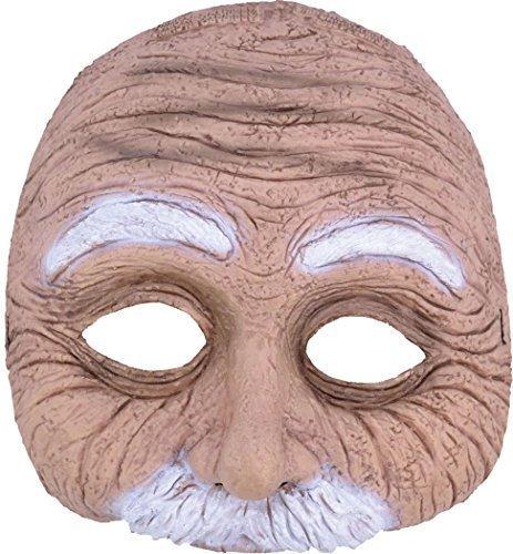 lloween Kostüm Party Leiche Zubehör Maske Kostüm - Alter Mann, One size (Alter Mann Halloween)