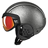 Casco Skihelm SP-6, Silber Multilayer, inkl. Hardcase, Gr. S (52-54 cm)