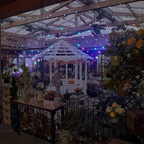 g Lichter Fenster Vorhang Lichterketten Lichterketten Hochzeit Party Dekor 3X6M 600Led, Vorhang Lampe Mit Fernbedienung FüR Hochzeit Im Freien Party Dekorationen ()