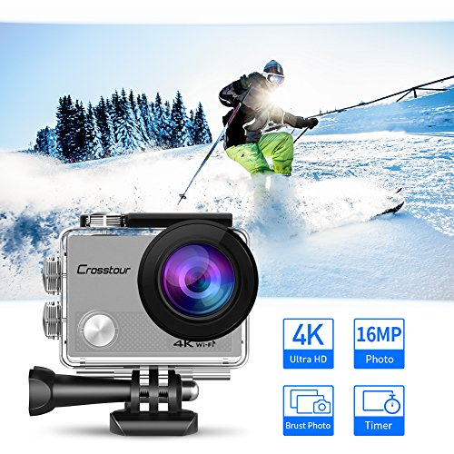 Zoom IMG-1 crosstour action cam 4k 16mp