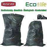 Curver 4x10 Stück Eco Life Abfallbeutel Müllbeutel 50 Liter Recycling CO2 Reduziert