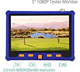 8.9cm Tft-lcd Moniteur Cctv Testeur PRO CCTV testeur Vidéo / PTZ testeur / Caméra De Surveillance / Cable testeur /CCTV moniteur Test testeur Stest-893