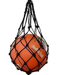Sac Boule de sports en maille–Bailuoni Sport utile Boule en maille filet en nylon Sac Boule en maille filet de transport pour volley-ball basket-ball Football