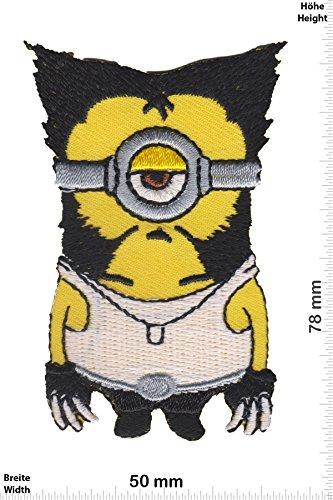 Patch - Minion - Wolverine - Ich Einfach Unverbesserlich - Movie - Movie - Minion - Aufnäher - zum aufbügeln - Iron On (Einfach Patch)