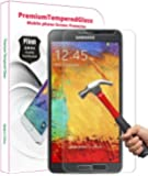 PThink� 0.3mm Ultra-thin Tempered Glass Screen Protector for Samsung Galaxy Note 3 with 9H Hardness/Anti-scratch/Fingerprint resistant (Samsung Galaxy Note 3)