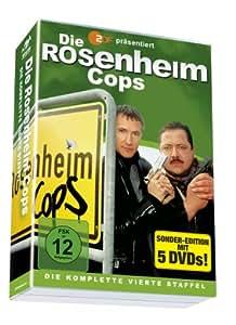 Die Rosenheim Cops - Die komplette 4. Staffel auf 5 DVDs!
