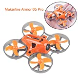 MakerStack Armor 65 Pro Micro FPV Racing Drone 65mm Whoop Quadcopter, Drohne, 7x16mm Motoren F3 FC mit XM Frsky Receiver BNF (Armor 65 Pro)