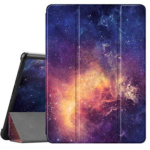 Fintie Hülle für Samsung Galaxy Tab S4 10.5 2018 mit S Pen Halter - Ultra Schlank Ständer Schutzhülle Case mit Auto Schlaf/Wach Funktion für Samsung Tab S4 10.5 Zoll Tablet T830/T835, Die Galaxie