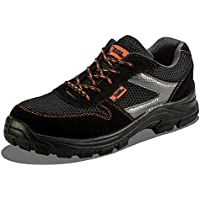 Calzado Deportivo Masculino de Seguridad con Puntera Ultraligera de  conglomerado Zapatos de Trabajo al Tobillo de df16d16565033