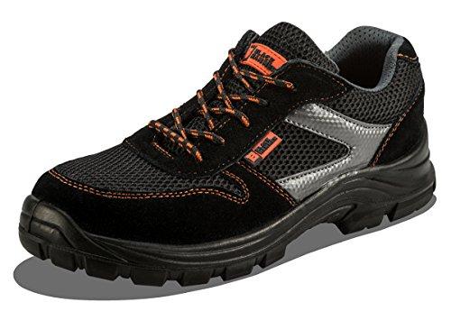 Scarpe Antinfortunistiche S1P SRC Sicurezza da Uomo Leggere in Materiale Composito e Intersuola Kevlar Sneaker da Lavoro Leggere ed Eleganti Non Metallico 1997 (41 EU)
