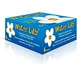 Toucan - Water lily - purificateur d'eau - Boite de 6 fleurs Blanc/Jaune