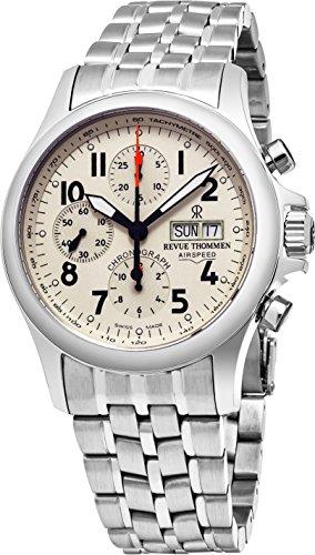 Revue Thommen Airspeed Heritage Herren-Armbanduhr 40.5mm 17081.6138