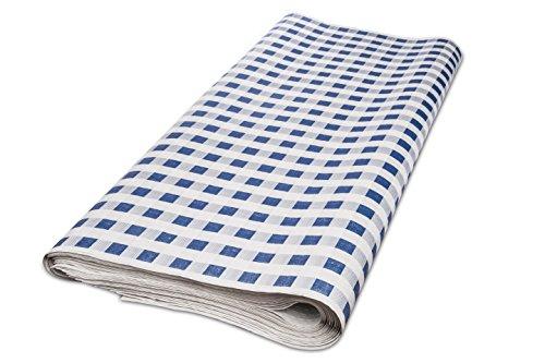 90Tischdecke, 100x 100cm, Prägung, 38gr, Bild 5S (100Stück), blau ()