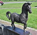 H. Packmor GmbH - Scultura in Bronzo a Forma di Cavallo in Piedi, Stile Moderno, Decorazione da Giardino