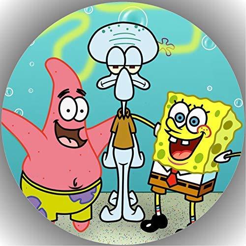 Fondant Tortenaufleger Tortenbild Geburtstag Spongebob T8
