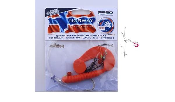 Meeresvorfach Spro Norway Expedition Meeressystem Octopus Grub Rig Nr 2
