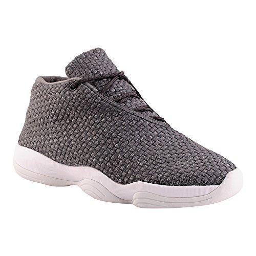Herren High Top Sneaker Basketball Sport Freizeit Schuhe Grau