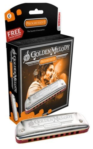 ARMONICA BLUES   HOHNER (542/20C) GOLDEN MELODY (NOTA DO) (20 VOCES) PROGRESSIVE SERIES