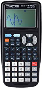 Zantec calcolatore TG204 SAT 12 cifre Display Calcolatrice Programmazione Grafica scientifica