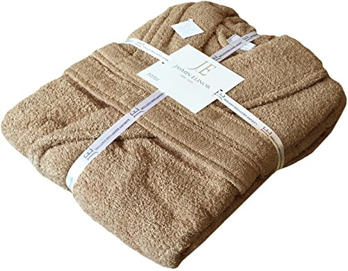 mens-ladies-unisex-egyptian-cotton-500-gsm-terry-towelling-shawl-collar-bathrobe-dressing-gown-2xl-3