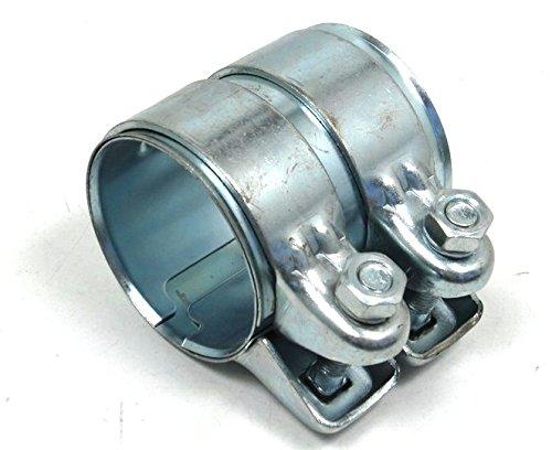 Universal Rohrverbinder Verbinder Schelle Doppelschelle Ø 62-66 mm L = 80