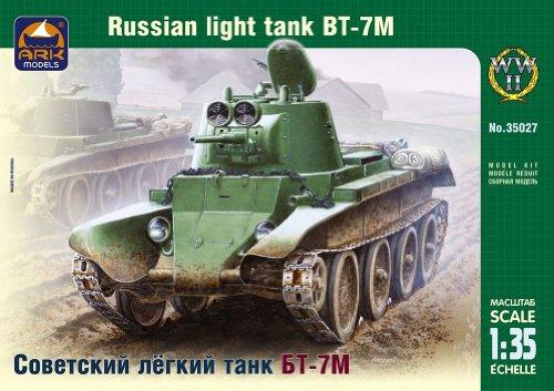 ARK Models AK35027 - Russian Light Tank BT-7M