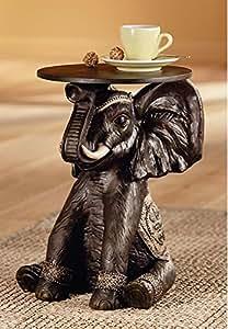 Beistelltisch elefant skulptur telefontisch couchtisch for Beistelltisch elefant