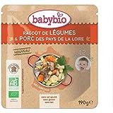 Babybio doypack ragoût de légumes porc 12 mois 190g - ( Prix Unitaire ) - Envoi Rapide Et Soignée