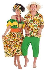 Creaciones Llopis- Disfraz Adulto, Multicolor (4968-AL)
