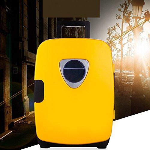 Nevera pequeña,Refrigerador del coche doble pequeño insulina inicio mini compacto refrigerador portátil...
