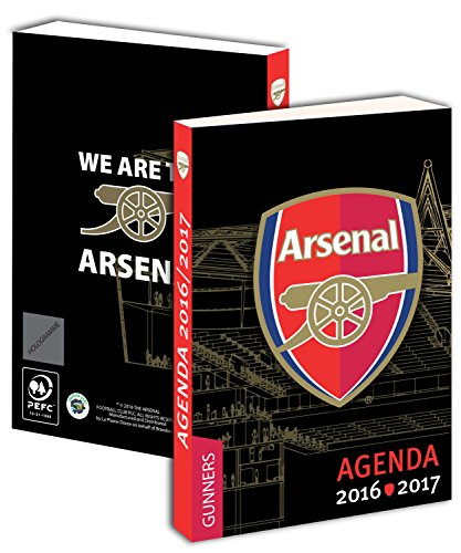 Agenda scolaire ARSENAL 2016 / 2017 - Collection officielle - Rentrée scolaire