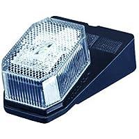 Aspöck LED Flatpoint 2 weiß Leuchte zum Anbau 12 V Positionsleuchte mit Kabel