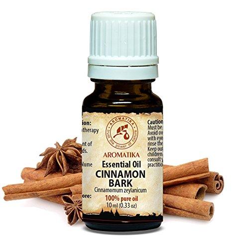 Aceite Esencial de Corteza de Canela 10ml - Cinnamomum Zeylanicum - India - 100% Puro & Natural - Relájese...