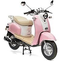 Nova Motors Retro Star ie 50 rosa-weiß Euro 4 - 45km/ Mokick - fahrbereite Lieferung inklusive