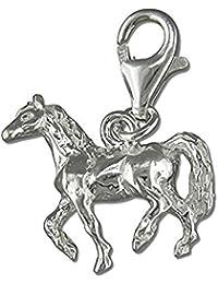 Trotar caballo de plata de ley de clip-en encanto - para Thomas Sabo pulseras del encanto de estilo. R5959