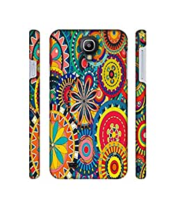 NattyCase Rangoli Design 3D Printed Hard Back Case Cover for Samsung Galaxy S4 GT i9500