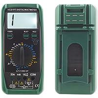 TrAdE shop Traesio MULTIMETRO DIGITALE TESTER PROFESSIONALE VOLT AMPERE VOLTMETRO 20A LCD VC2101
