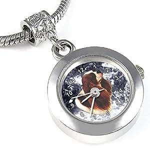 Cavalier King Charles Spaniel - Montre Bead pour collier ou un bracelet