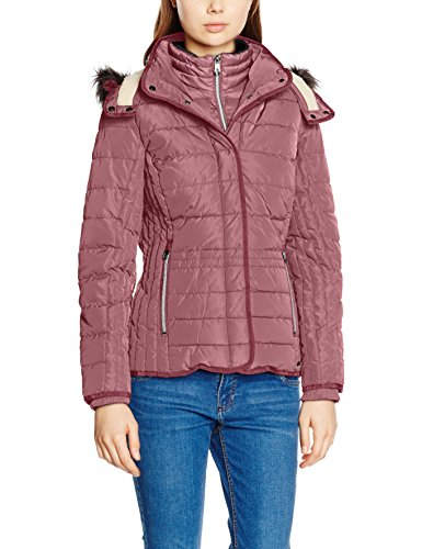 TOM TAILOR Casual Padded Jacket, Giacca Donna, Viola (Crushed Purple), 42