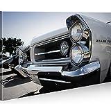 islandburner Bild Bilder auf Leinwand Pontiac Grand Prix Amischlitten 1p XXL Poster Leinwandbild Wandbild Dekoartikel Wohnzimmer Marke