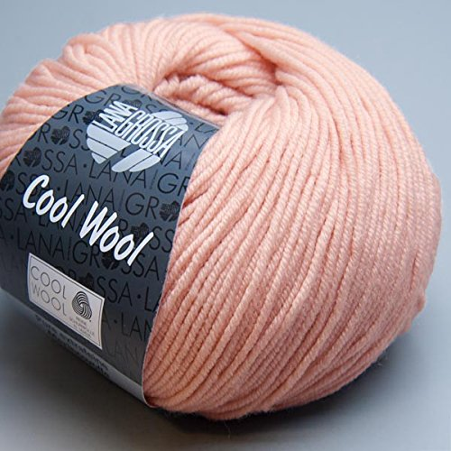 Lana Grossa Cool Wool Fb. 2018 Puderrosa