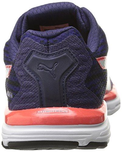 Puma Faas 500 V4 scarpa da corsa Bleached Denim/Astral Aura/Cayenne