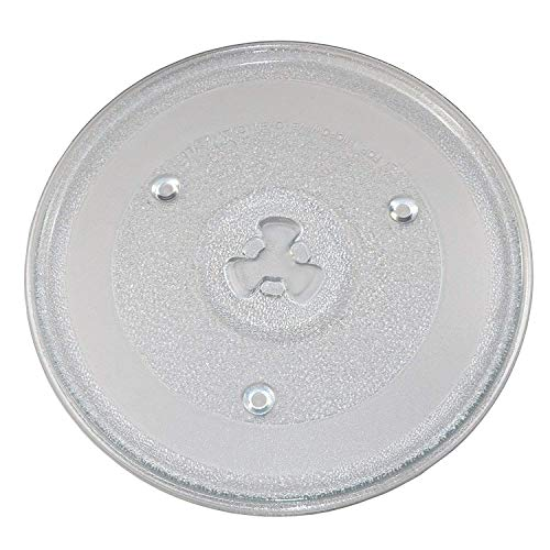 OM Replacement Turntable Glass BakingTray/Rotating Plate for IFB 23 L and 25 L, Electrolux 26 L Microwave Ovens, 10.5-inch/270 mm Diameter
