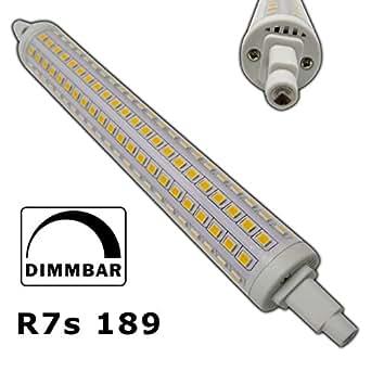 Projecteur lED r7s 189 mm 20 w environ 216 x sMD blanc chaud ampoule halogène j189Fluter sLV brûleurs phares