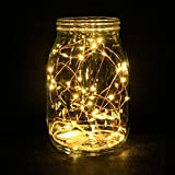 ZWOOS 6PCS/set LED de Luz Cálida Cadena Luces Con Pilas Del 20 LEDs Luces de Hadas Micro 2M Desarrollado Cadena de Luz Estrellada para Jardines, Hogar, Boda, Fiesta de Navidad (2 * CR2032 baterías incluidas) - ZWOOS - amazon.es