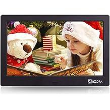 Cornice Digitale Con Sveglia E Calendario.Amazon It Cornice Digitale Con Sveglia