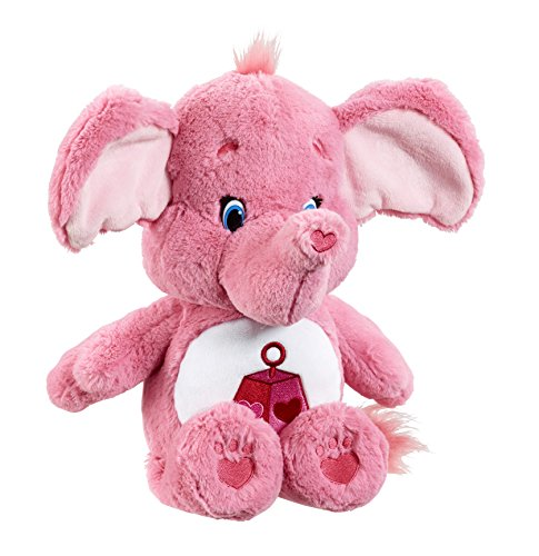 Image of Vivid Imaginations Care Bears Cousins Lotsa Heart Elephant Plush Toy with DVD (Medium, Multi-Colour)