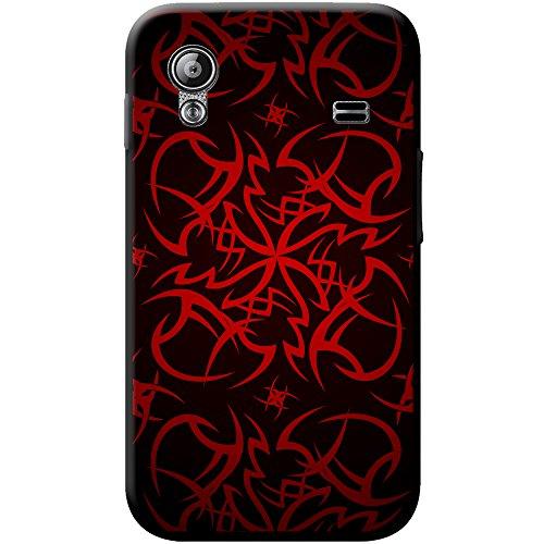 Tribal Cult Tattoo Coque rigide pour téléphone portable Tribal Cult Tattoo - Red